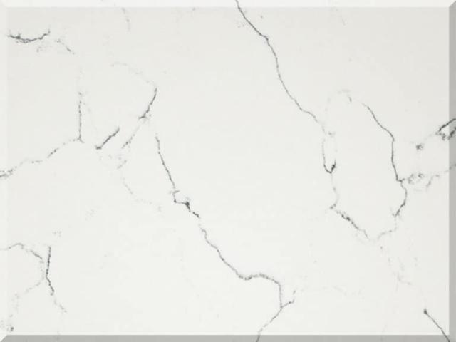 Цветовая палитра кварцевый камень Vicostone Marble Effect Bianco Venato BQ 8440 BQ8440 Bianco Venato