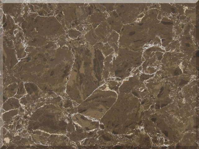 Цветовая палитра кварцевый камень Vicostone Marble Effect Dark Emparador BQ 8560 BQ8560 Dark Emparador