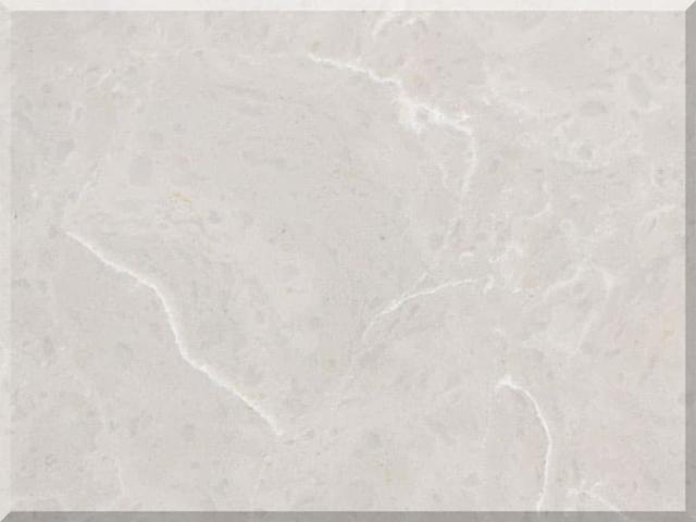 Цветовая палитра кварцевый камень Vicostone Marble Effect BQ8590 Dolce Vita