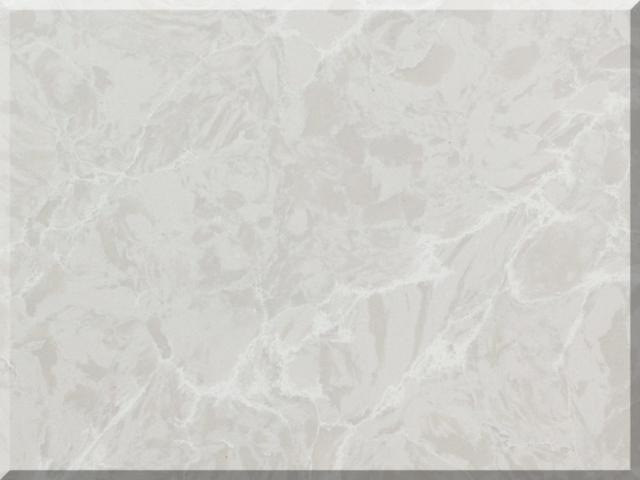 Цветовая палитра кварцевый камень Vicostone Marble Effect Ice Lake BQ8668