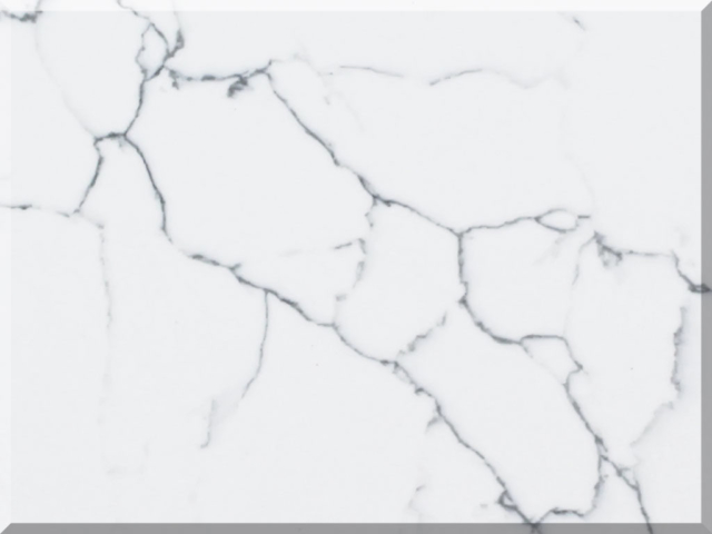 Цветовая палитра кварцевый камень Vicostone Marble Effect Venatino BQ8660